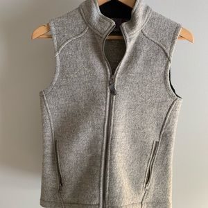 Ibex wool vest size medium, used for sale